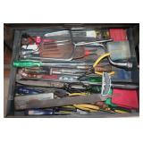 Torque wrench, files, drill bits, etc.