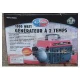 1000 Watt Generator NIB