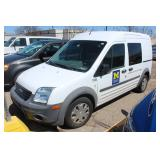 #1106 2012 Ford Transit Connect Mini Cargo