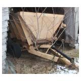 Old Stoltzfus tandem fertilizer cart