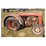 Fordson tractor - just pulled out of the barn
