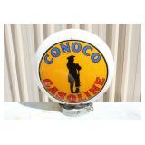 #146 Conoco Gasoline fuel pump globe