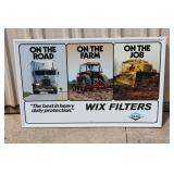 "#37 Wix Filters Dana sign (23"" x 35"")"