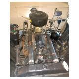239 Cu 3.9 L V8 flathead engine