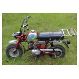 1969 Benelli mini bike w/ 190.5 miles