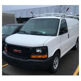 #1008 2010 GMC Savanna Work Van