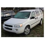 #1289 2008 Chevrolet Uplander Mini Cargo