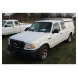 #1501 2009 Ford Extended Cab Ranger Compact Pickup - 13,000+ miles