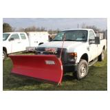#1021 2010 Ford F-250 4x4 with plow - 22,000+ miles