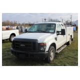 #1202 2010 Ford F-250 Utility Truck