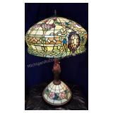Stunning Art Glass Table Lamp