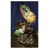 Butterfly Duo Table Lamp