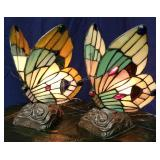 Pair of Butterfly Table Lamps
