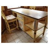 Habersham Custom Kitchen Island/Table/Sideboard