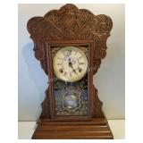 19th Century Gilbert Mantle Clock