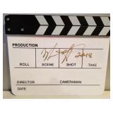 Directors Clapboard autographed by Melissa Gilbert