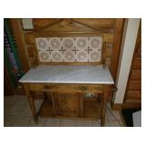 Antique Washstand Dresser/Dry Sink Cabinet