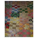 Beautiful Handmade Patch Quilt