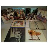 Group of LP Record Albums including Beatles