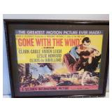 Gone With The Wind Framed Replica Poster