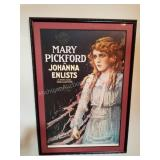 Mary Pickford in Johanna Enlists Movie Poster