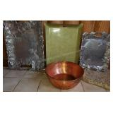 Group of Serving Platters & Thick & Heavy Stone