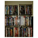 Gorup Lot of 83 DVD and Blu-Ray Video Movies