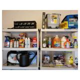 Garage Accessories, Solvents, Mop Buckets etc.