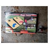 Bag Toss Game and Fishing Poles