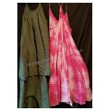 Intimately Tie Dye and Green Dress Worn By Melissa