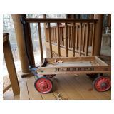 Vintage Hibbard Wooden Wagon