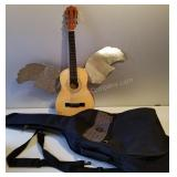 Brand New Fender Guitar Case and Acoustic Guitar