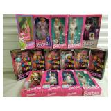 Group of 15 Barbie Dolls