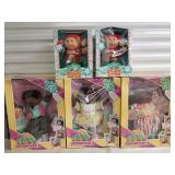 Group of Cabbage Patch Kids Dolls