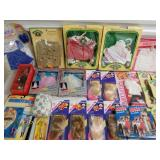 Large Assorted Clothes and Doll Accessories