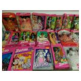 Group of 20 Various Barbie Dolls and More