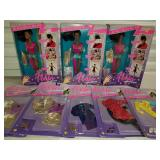 Flo Jo Group Lot of Dolls and Accessories
