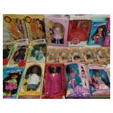 Group Lot of Various Dolls