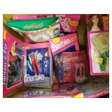 Large Assortment of Barbie Dolls and Accessories