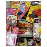 Group Lot of Barbie Clothes and Accessories