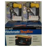 Black & Decker Workmate ShopBox & Bayco Lights