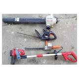 Group of 4 Electric Hedge Trimmers, Weed Whipper