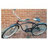 Vintage Schwinn Typhoon Black Bicycle