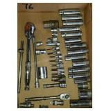 Group of SNAP ON Tools with Torque Wrench