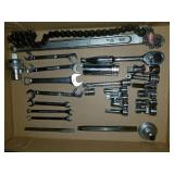 SNAP ON Ratchet, Extensions, Sockets, Wrenches