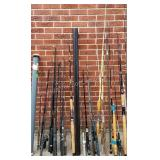 Group of 20 Fishing Poles