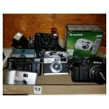Group Lot of Camera with Nikon N2000