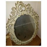 Antique Terra Cotta Wall Mirror