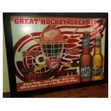 2005-2006 Detroit Red Wings Miller Lite Mirror
