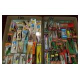 Group of 47 Brand New Fishing Lures in Box